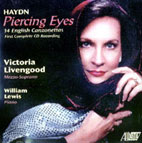 Victoria Livengood & William Lewis: Haydn: Piercing Eyes