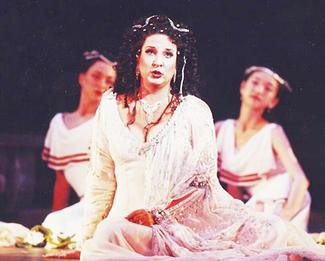 "Thomasville native Victoria Livengood sings the role of Dalila in ""Samson et Dalila"" at the Cleveland Opera."